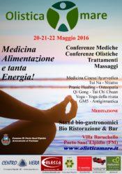 OLISTICAMARE 20 – 21 – 22 MAGGIO 2016