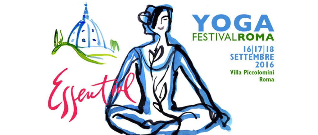 YOGA FESTIVAL ROMA 16/17/18 settembre 2016