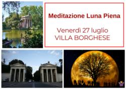 Meditazione Luna Piena a Villa Borghese
